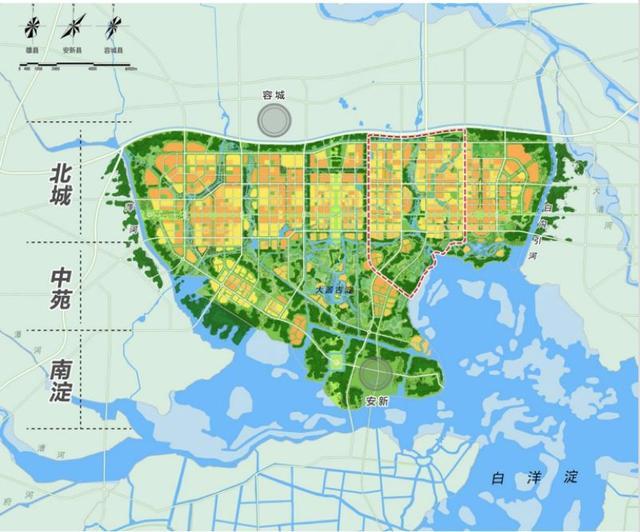 国务院批复《河北雄安新区总体规划(2018-2035年)》图片